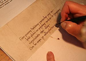 Cours Denluminure Et Calligraphie Dor Et De Pigments